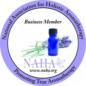 Business member of the National Association of Holistic Aromatherapy