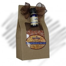 Stress Reducer Blend and Himalayan Salt Spa Kit