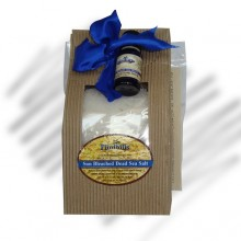 Stress Reducer Blend and Dead Sea Salt Spa Kit